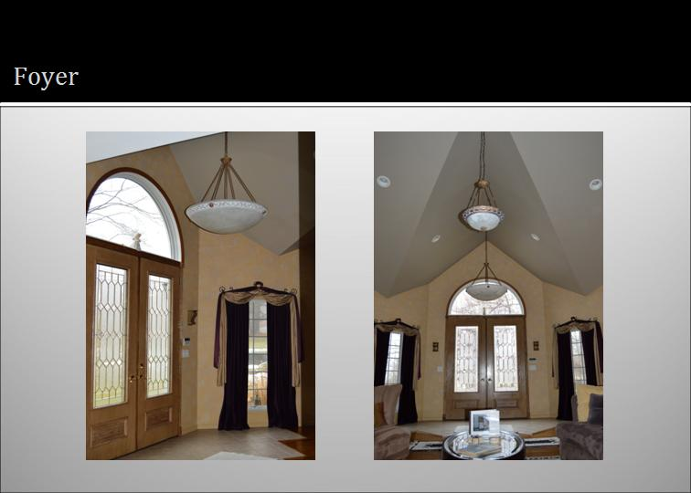 Large Foyer Window Treatment : Foyer window treatments free blinds