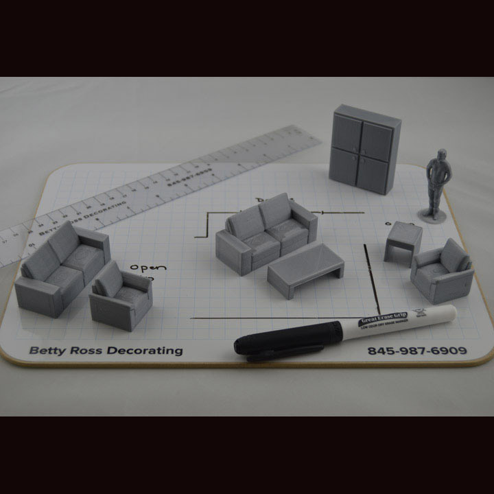 3D Furniture Layout Kit